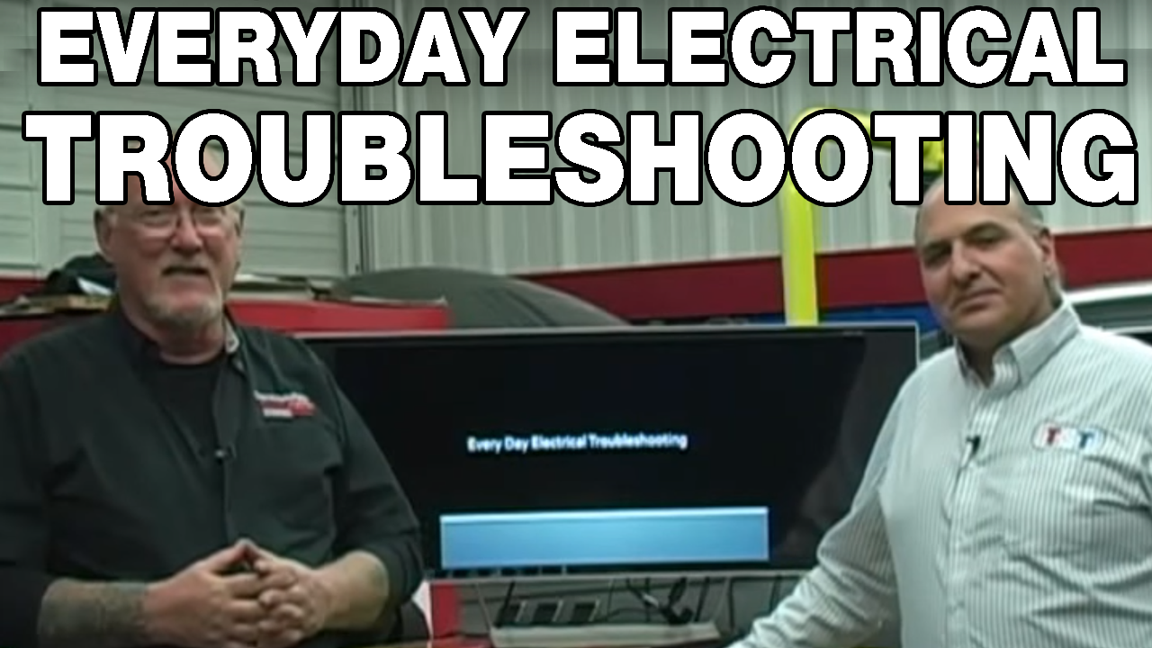 Everyday electrical troubleshooting techniques webinar